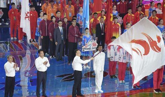 第二屆青年運動會閉幕 安徽代表團共收獲45枚金牌