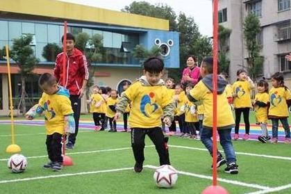 安徽129所幼兒園被評為全國足球特色幼兒園