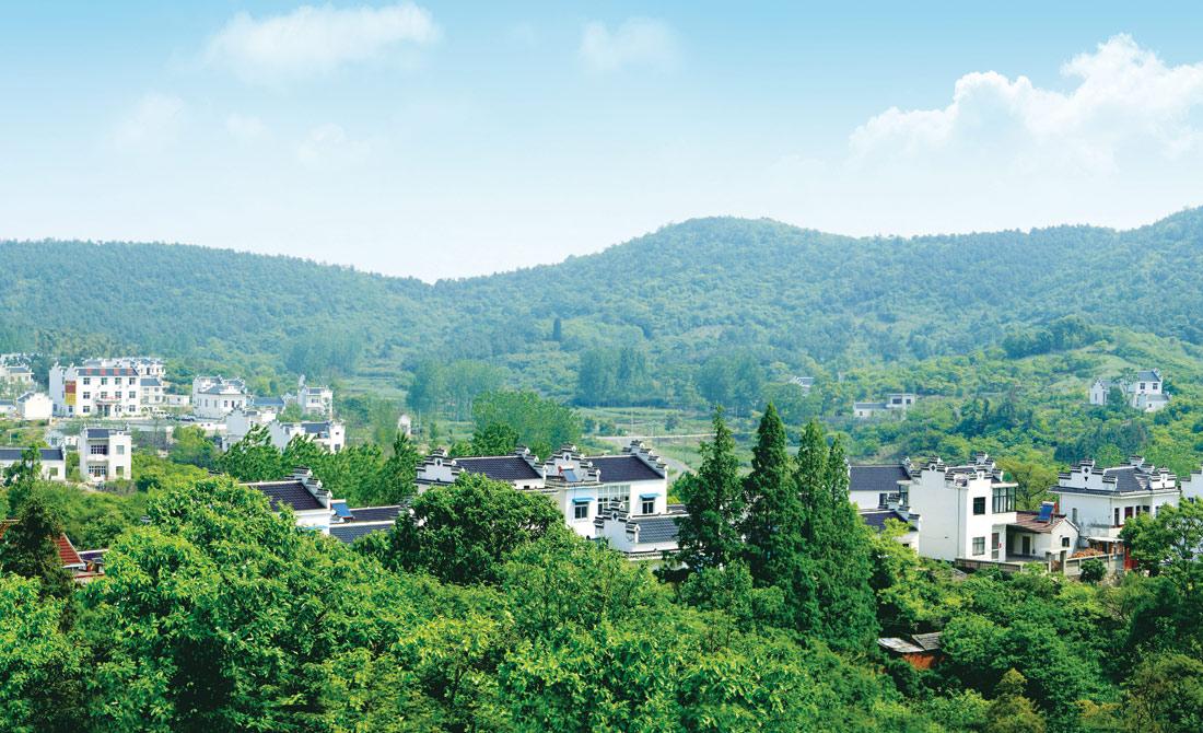 當涂縣萬(wan)山村