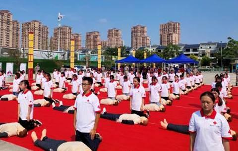 安徽省紅十字會AED自動體外除顫器城市布點項目首站在淮北啟動
