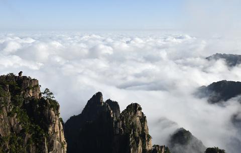 微視頻:秋日黃山 遇見雲海