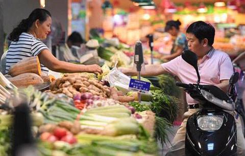 8月份安徽省CPI同比上漲2.5% 環比漲幅為1.2%