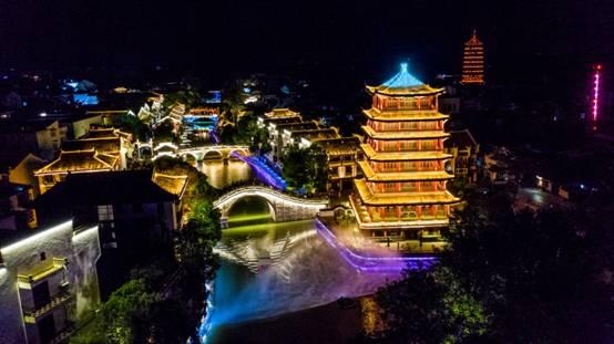 """三河古鎮璀璨亮燈,點亮肥西""""夜遊經濟"""""""