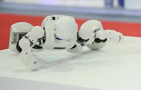 反手就是一個讚!這款機器人能做單手俯臥撐