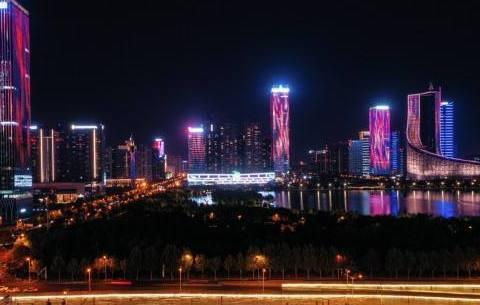 合肥多處高(gao)架和公(gong)園(yuan)景觀將于國慶期間亮燈