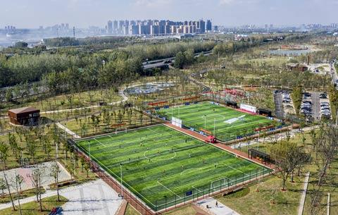 肥東體育公園即將開園