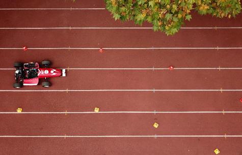 合肥工業大學學生自制方程式賽車亮相