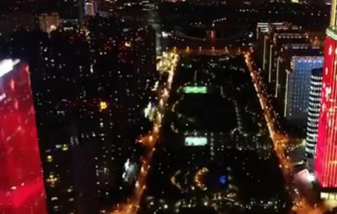 國慶假期合肥天鵝湖將上演夜景燈光秀