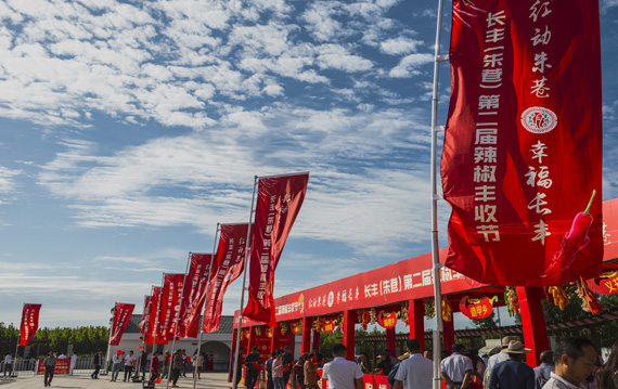 現場圖集:長豐(朱巷)第二屆辣椒豐收節