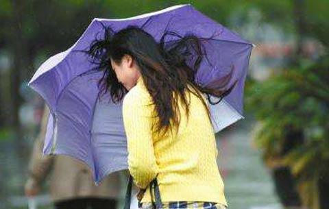 """冷空氣即將抵達安徽 5日全省平均氣溫""""跳水""""10℃"""