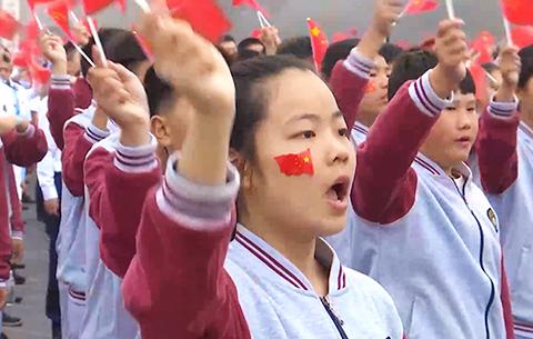 泗縣:歌唱祖國