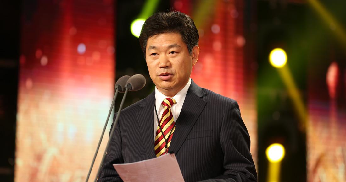 農業農村部農業貿易促進中心主任張陸彪致辭