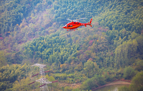 高能!我國自主實施直升機超高壓帶電作業