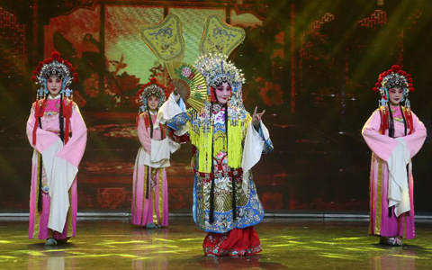 第(di)十二屆安徽(hui)國際文化旅游節開幕