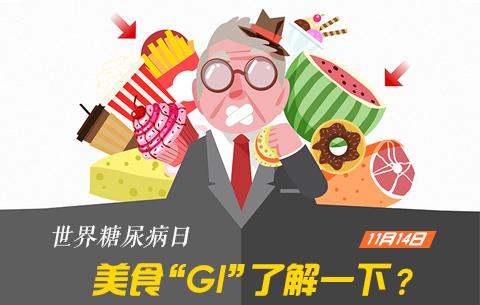 """聯合國糖尿病日美食""""GI""""了解一下?"""