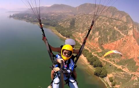 微視頻:翱翔在劉家峽