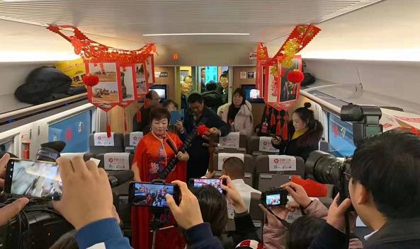 """以高鐵為媒 界首""""牽手""""上海加速一體化發展"""
