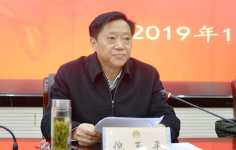倪玉平任安徽省人防辦黨組書記 提名為主任