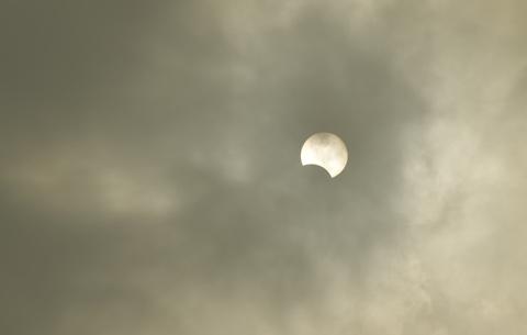 10年代最後一次日食天象精選
