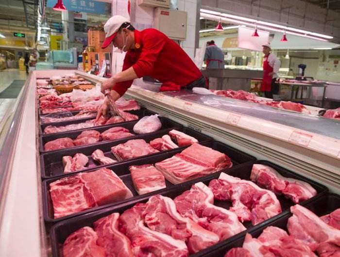 """安徽省""""兩節""""投放儲備肉1萬噸"""