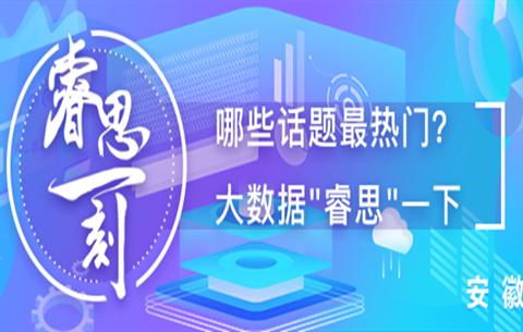 """睿思一刻·安徽(hui)(1月13日)︰網民最關注(zhu)""""2020年安徽(hui)省要(yao)怎麼(me)干?"""""""