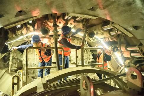 合肥軌道交通4號線建設穩步推進