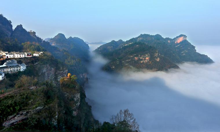 安徽齊雲山