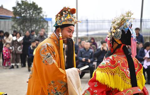 安徽亳州:文藝惠民迎新春