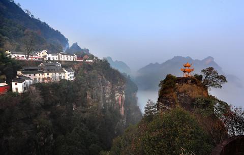 齊雲(yun)山上有人家(jia)