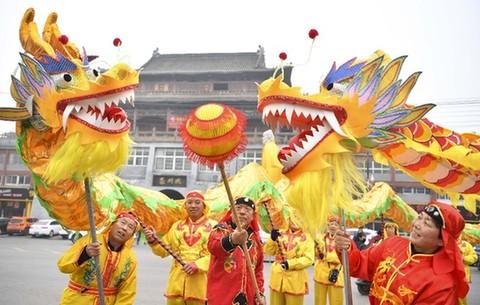 多彩民俗迎新春