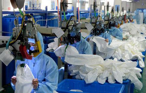 """疫情防控物資生産企業增産擴産有""""利好"""""""