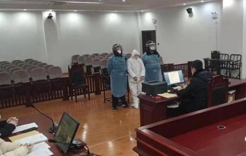 安徽宣判首例涉疫情防控妨害公務案件
