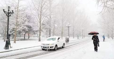 安徽省出現大范圍雨雪和強降溫
