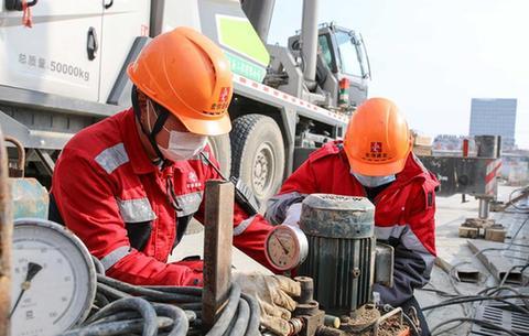 安徽合肥:重點民生工程陸續復工