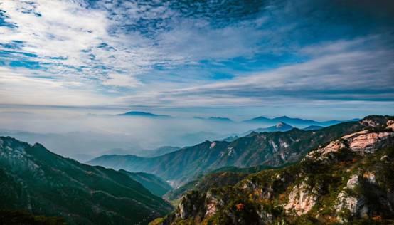 """天(tian)堂寨(zhai)景(jing)區將開園 天(tian)然氧吧等你來""""洗肺(fei)"""""""