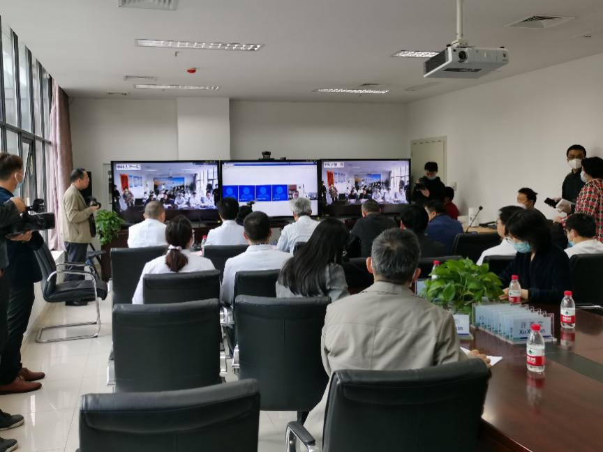 一場特殊的跨國5G遠程會議