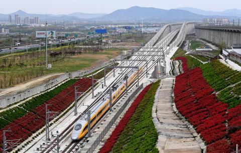 商合杭高鐵合肥至湖州段開始聯調聯試