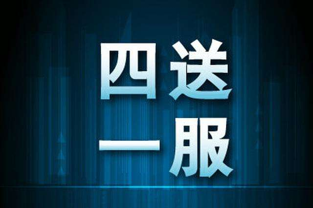 """""""四送一服""""平(ping)台提升銀(yin)企對接效率"""