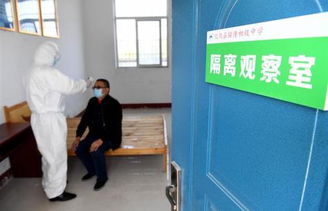 安徽肥西:校園防疫演練備開學