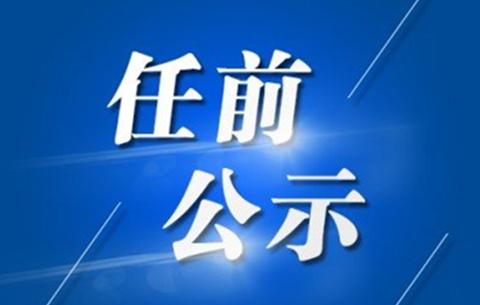 蕪湖發布一批幹部任前公示 破格提拔一名幹部(名單)