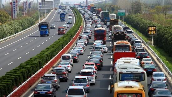 """安徽交警發布""""五一""""高速公路易堵路段提示"""