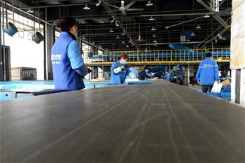 安徽肥東:物流企業加速復工