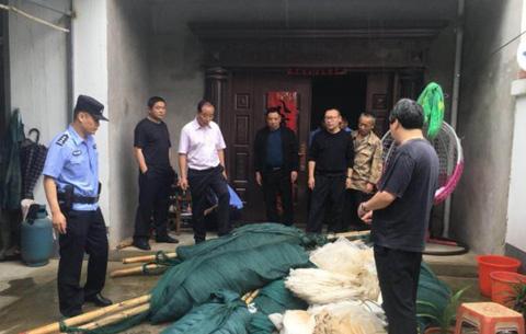 """""""凈湖行動2020""""合肥警方打掉7個非法捕撈團夥"""