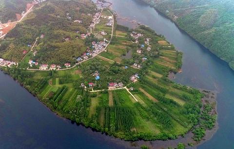 航拍六安瓜片原産地核心區:綠水青山盡開顏