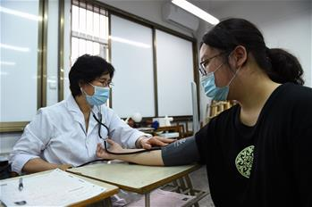 """合肥:高考體檢""""送檢到校""""服務學生"""