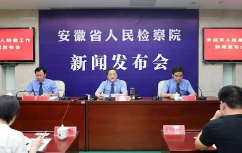 安徽省首發未成年人檢察工作白皮書