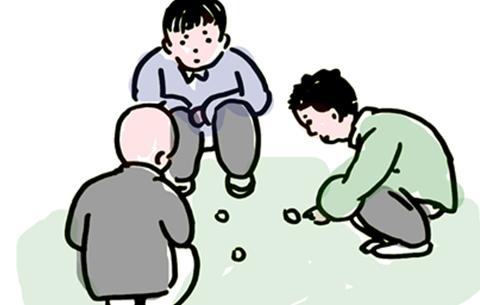 手繪漫畫:回不去的童年 忘不掉的美好