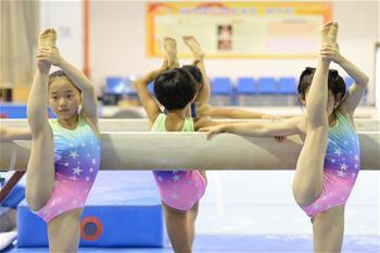 體操——安徽體操隊訓練備賽