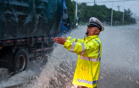 安徽迎新一輪強降雨