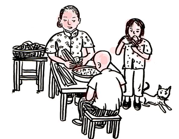 【手繪】一組漫畫帶你了解端午習俗